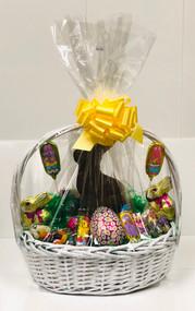 Large Easter Basket (White)