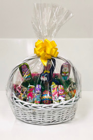 Small Easter Basket (White)