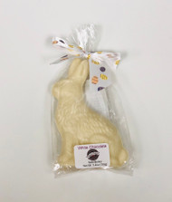 5.4oz Solid Bunny White Chocolate Nut Free