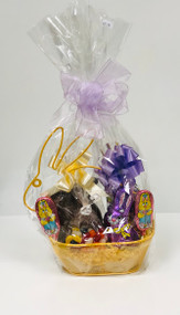 Wired Bunny Shaped Basket (Yellow)