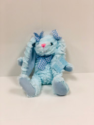 Stuffed Medium Bunny (Blue)