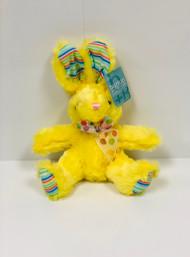 Stuffed Small Rainbow Bunny (Yellow)