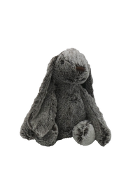**Stuffed Large Dark Grey Bunny**