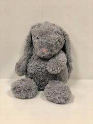 Stuffed Large Light Grey Bunny
