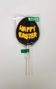 Nut Free Happy Easter Pop Dark Chocolate (Yellow)
