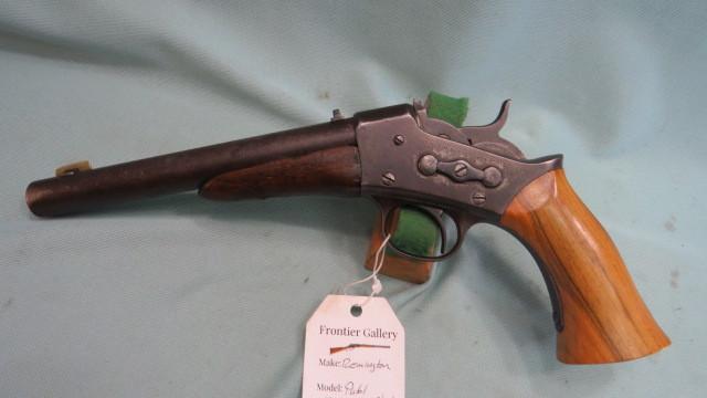 SOLD- Remington 1871 Rolling Block Pistol