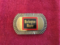 Burlington Route belt buckle, railroad