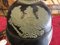 On hold*** World War I replica Spiked Pickelhaube