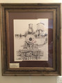 "Print Rail Road  by Steve Dobbs "" Engine 22 DSP & P RR"""