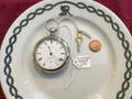 Waltham Bartlett 1892 pocket watch with key