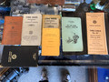 Railroad conductors folio and procedure manual, leather