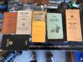 Railroad conductors folio and procedure manual, leather