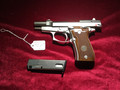 -SOLD- Beretta 84FS Nickel plated Cheetah. It is NIB.