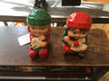Christmas elves salt and pepper shakers
