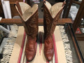 Leather cowboy (cowgirl) boots made by Remington in El Paso Texas