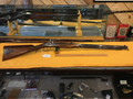 Replica Hawkins black powder .54 cal. Beautiful wooden stock and patch box.