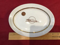 "Zephyr Rail Road plate! Made in USA by Homer Laughlin "" Best China"""