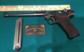 Luger Artillery 9mm mint, matching, WWI and the blueing and straw is super!