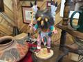 "Native American kachina doll ""Owl"" used. Nice details"
