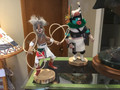 Kachina doll hoop dancer, used,  very nice detail and colors