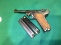 American Eagle  Luger 9 mm, no box. Two mag. Interarms 1970s SOLD