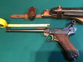 German Artillery Luger, with complete rig matching # holster and wood stock