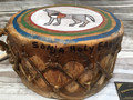 Native American drum by Sonja Holy Eagle, Dakota Drum Co. SOLD