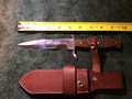 H.Boker & Co. knife dagger with leather sheath #2516