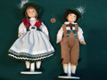 Dolls international, Germanic/ Nordic, boy and girl.