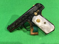 SOLD COLT 1908 or 1903 in .380 !! Engraved! Blued and Gold parts. A real beauty