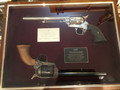 SOLD *COLTS Matching set, Peacemaker & Frontier six shooter-100 years Anniversary.