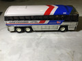 Greyhound Bus Toy made of Metal by Buddy in 1979 nice