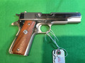 SOLD COLT 1911A1 , Mk VI series 70, almost minty! Hi gloss with original box and owner manual.