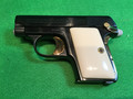 COLT .25 ACP pocket hammerless pistol M1908 beautiful gold details and grips