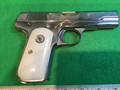 M1903 Pocket Hammerless .32 ACP nickel plated, ivory grips.