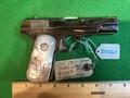 M1903 Pocket Hammerless .32 ACP nickel plated, pearl grips.