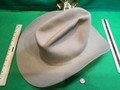 Vintage Cowboy Hat, USED, Light Beige . Size 7 1/8 Sold By Local Western Store