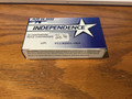 5.56 mm ammo by independence 20 round box made in Israel