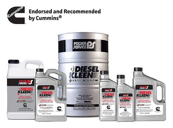 Cummins, Inc  Recommends Two Power Service® Products - Petroleum