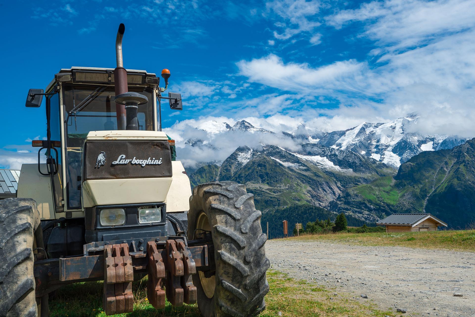 Lamborghini Put The Tractor Before The Bull Petroleum Service Company