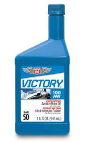 Phillips 66 Victory Aviation Oil 100AW | 1 Quart Bottle