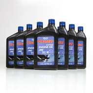 Coastal TC-W3 2 Cycle Engine Oil | 12/1 Quart Case