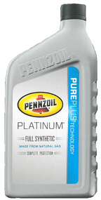Pennzoil Platinum Full Synthetic 5w-20 | 6/1 Quart Case
