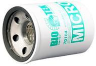 "Cim-Tek Bio-Tek 400BMG-10 | 1"" | 10 Micron Fuel Filter | Spin-On"