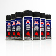 Berkebile 2+2 White Lithium Grease | 12/12 Ounce Case