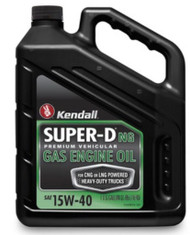 Kendall Super-D NG, 15w-40 | 3/1 Gallon Bottles