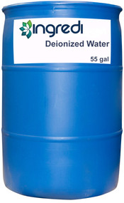 Deionized Water | 55 Gallon Drum