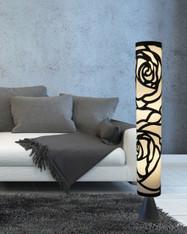 White floor lamp HBK006L modern contemporary art decor lighting for living room, bedroom, corner