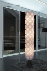Modern White floor lamp HBK005L-Wisteria Flower's Secret