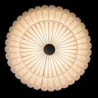 4-Light Multi-layer White Round Ceiling Light